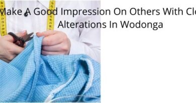Make A Good Impression On Others With Clothing Alterations In Wodonga